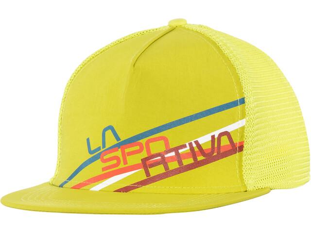 La Sportiva Stripe 2.0 Casquette trucker, sulphur/citronelle